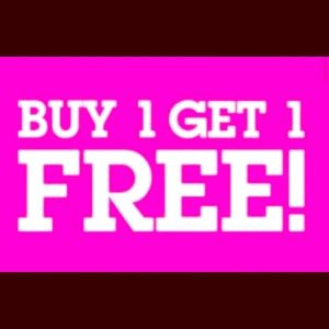 BOGO SALE! Everything has to go!